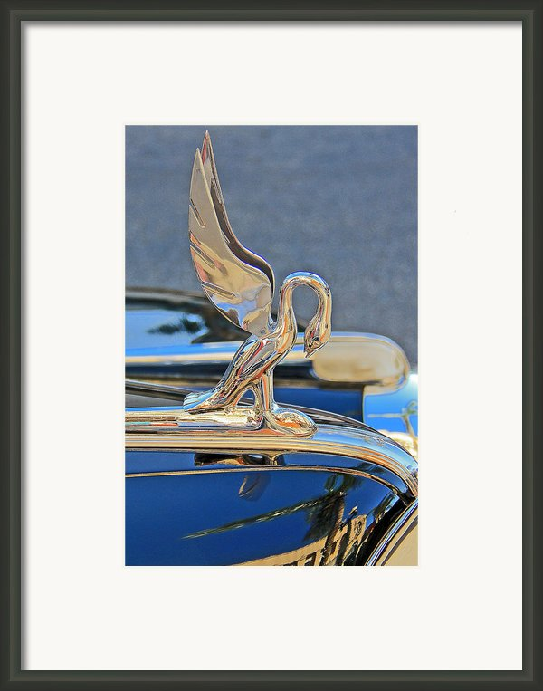 Packard Hood Ornament Framed Print By Ben And Raisa Gertsberg