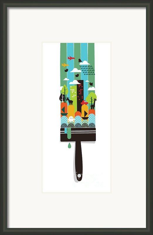 Paint Your World Framed Print By Budi Satria Kwan