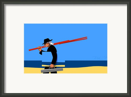 Painter   Framed Print By Tom Dickson