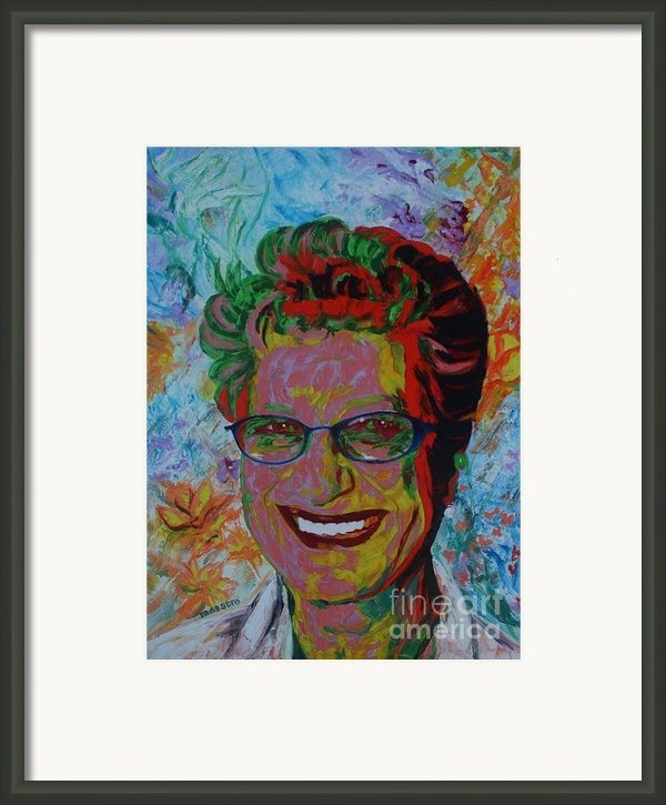Painterartist Fin Framed Print By Painterartist Fins Husband Maestro