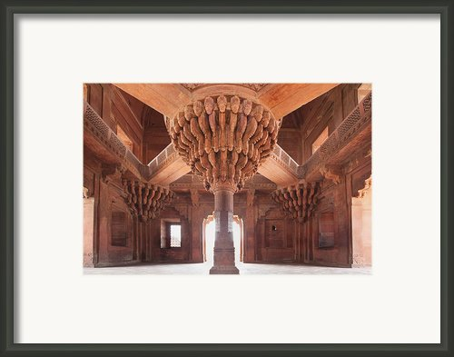 Palace Interior Framed Print By Bryan Mullennix