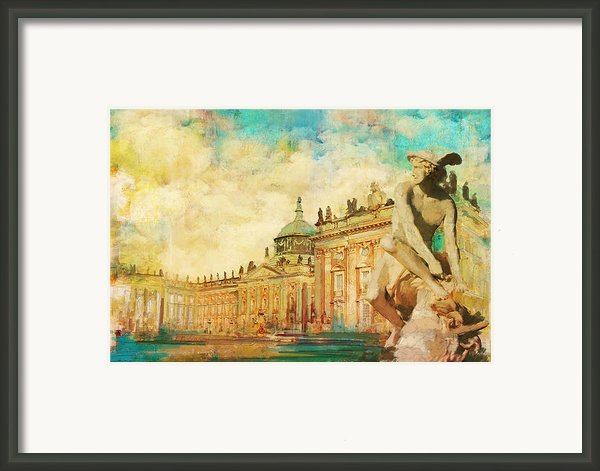 Palaces And Parks Of Potsdam And Berlin Framed Print By Catf