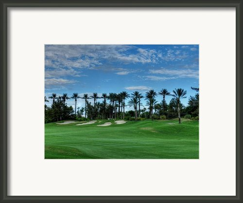Palm Springs Hdr 008 Framed Print By Lance Vaughn