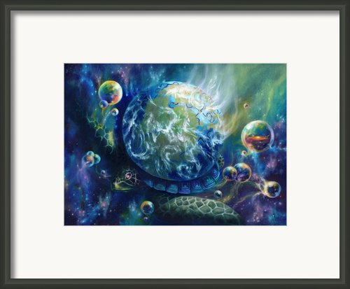 Pangaea Framed Print By Kd Neeley