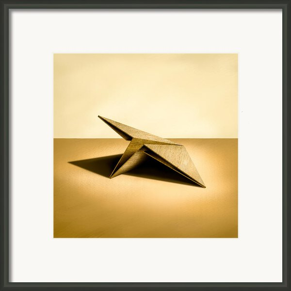 Paper Airplanes Of Wood 7 Framed Print By Yo Pedro