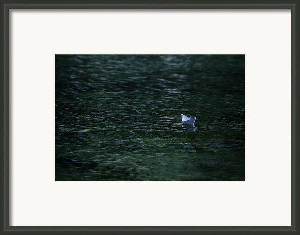 Paper Boat Framed Print By Joana Kruse