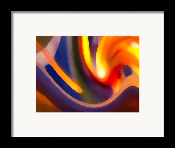 Paradise Creation Framed Print By Amy Vangsgard