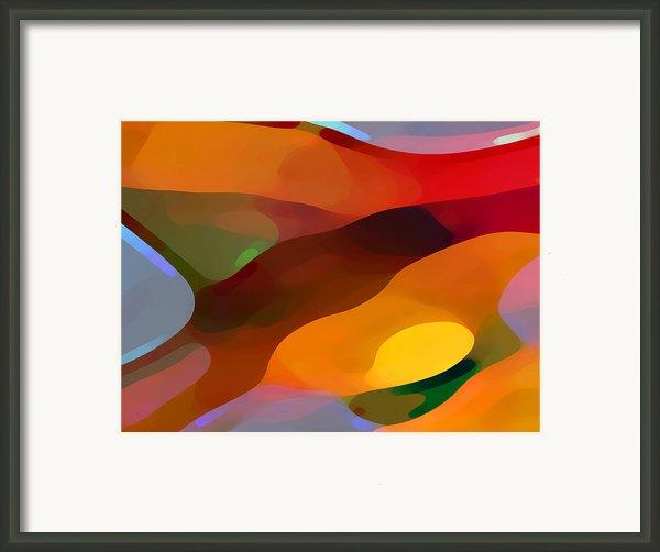 Paradise Found Framed Print By Amy Vangsgard