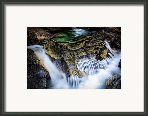 Paradise Rocks Framed Print By Inge Johnsson