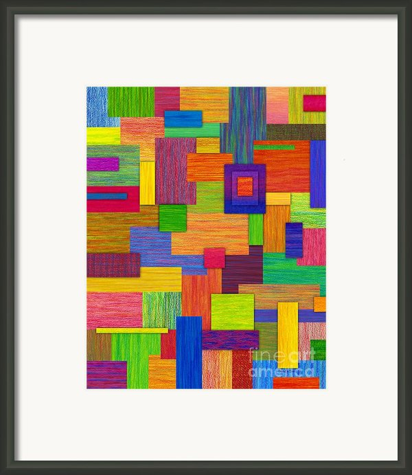 Parallelograms Framed Print By David K Small