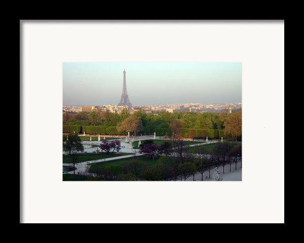 Paris Autumn Framed Print By A Morddel