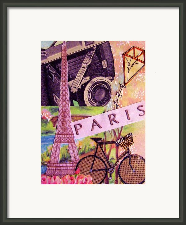 Paris  Framed Print By Eloise Schneider
