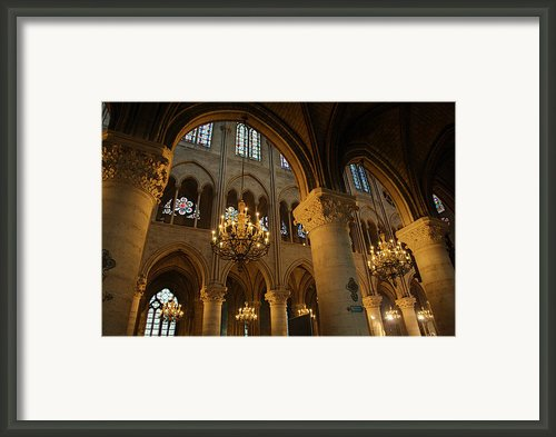 Paris France - Notre Dame De Paris - 01134 Framed Print By Dc Photographer