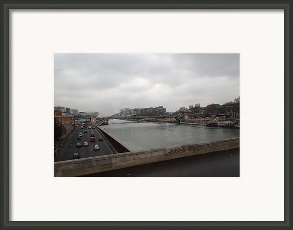 Paris France - Street Scenes - 011386 Framed Print By Dc Photographer