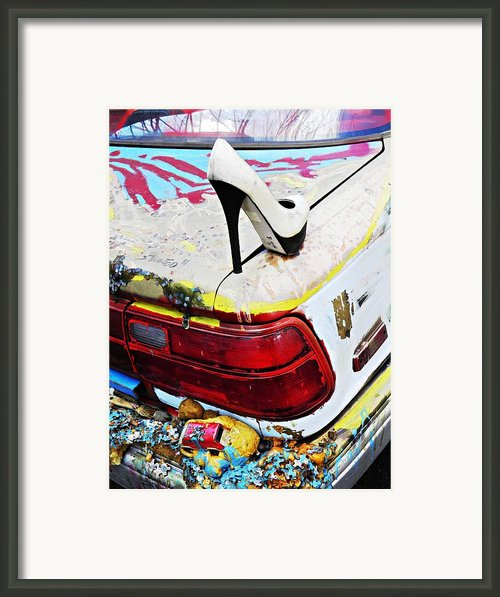 Parked On A New York Street 3 Framed Print By Sarah Loft