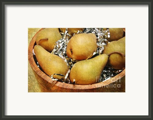 Party Pears Framed Print By Andee Photography