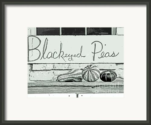 Pass The Peas Please Framed Print By Joe Jake Pratt