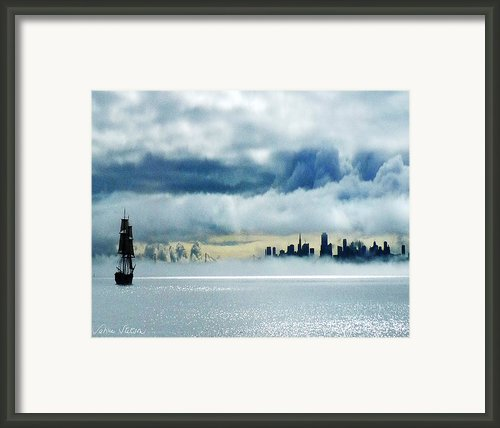 Passage Framed Print By Sabine Stetson