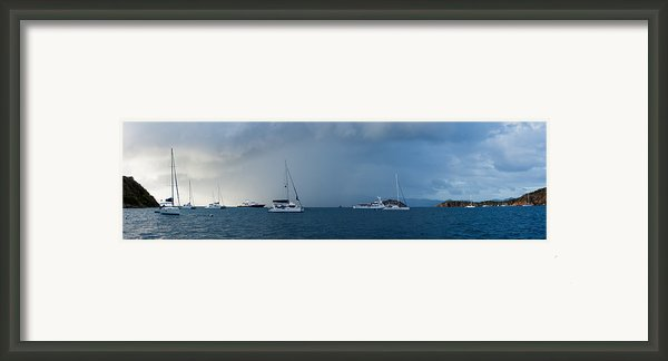 Passing Storm Framed Print By Adam Romanowicz