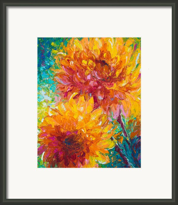 Passion Framed Print By Talya Johnson