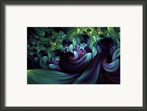 Passionate Mindfulness Framed Print By Zeana Romanovna