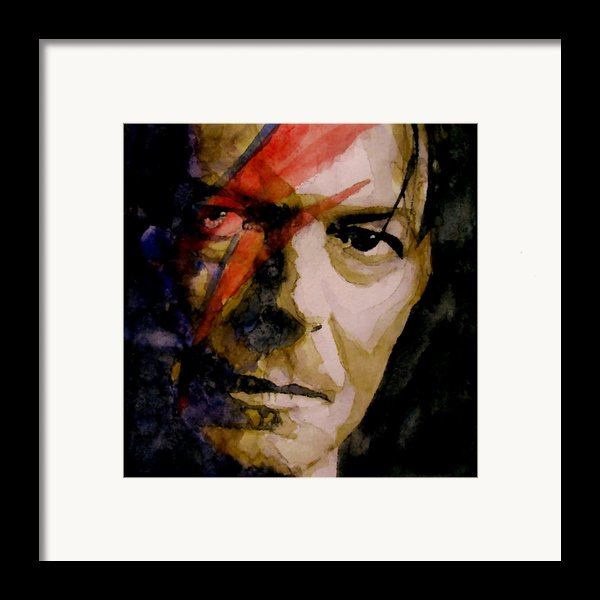 Past And Present Framed Print By Paul Lovering