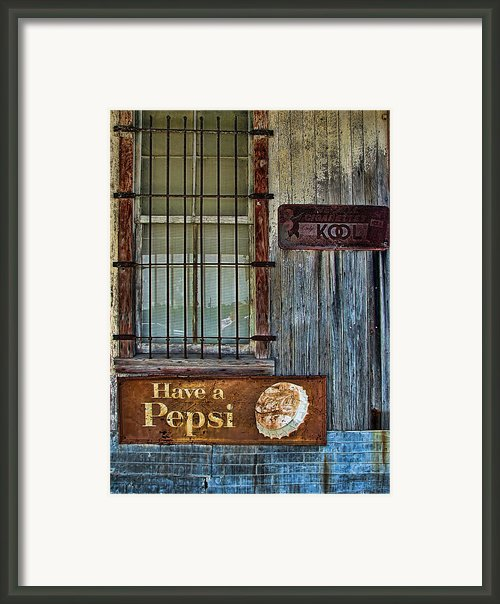 Past Vices Framed Print By Wendy J St Christopher
