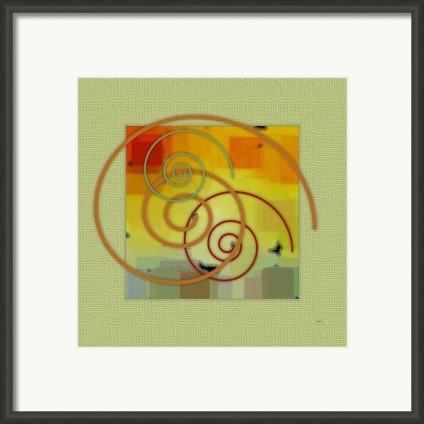 Patchwork Ii Framed Print By Ben And Raisa Gertsberg