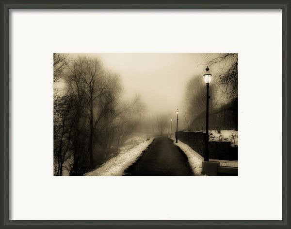 Path To Bonnie Park Framed Print By Bob Orsillo
