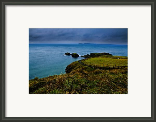 Path To The Bridge Framed Print By Justin Albrecht