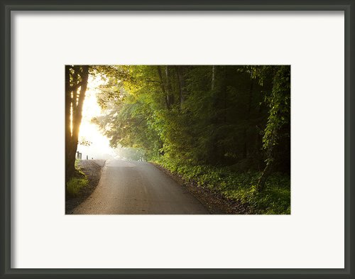 Path To The Light Framed Print By Andrew Soundarajan