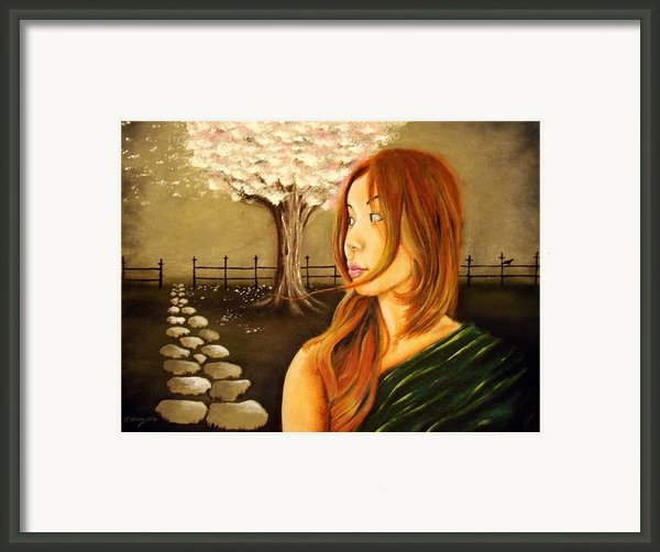 Path Unknown Framed Print By Michael Alvarez