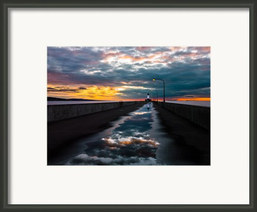 Pathway To The Sun Framed Print By Mary Amerman
