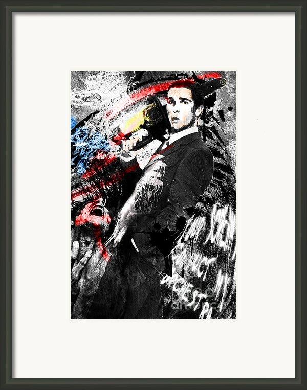Patrick Bateman - American Psycho Framed Print By Ryan Rabbass