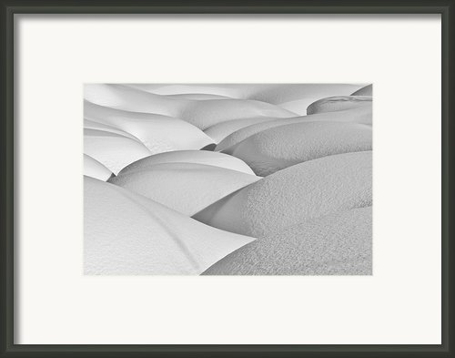 Patterns Of Shadow And Shape Created Framed Print By Ray Bulson