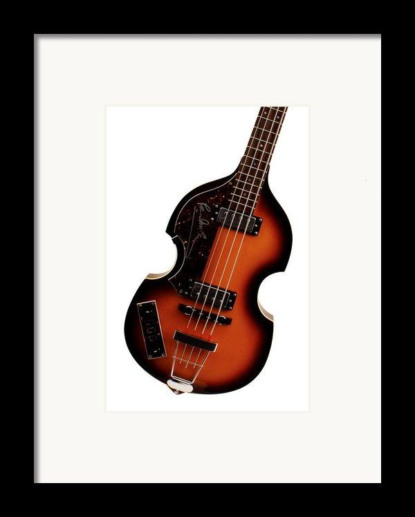Paul Mccartney Hofner Bass  Framed Print By Bill Cannon