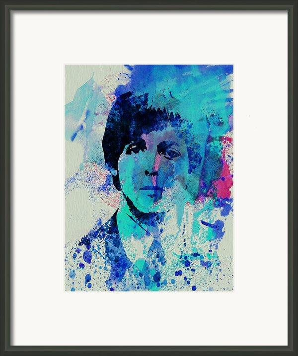 Paul Mccartney Framed Print By Irina  March