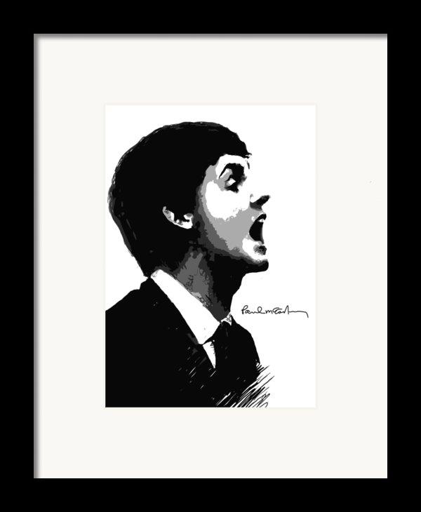 Paul Mccartney No.01 Framed Print By Caio Caldas