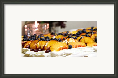 Pavlova And Candle Framed Print By Nancy Harrison