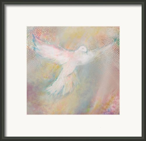 Peace Dove Framed Print By Anne Cameron Cutri