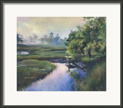 Peace Like A River Framed Print By Alice Grimsley
