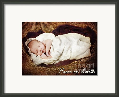 Peace On Earth Framed Print By Cindy Singleton