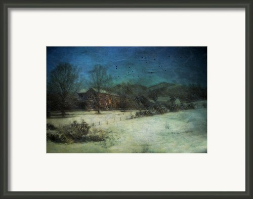 Peaceful In The Country Framed Print By Kathy Jennings