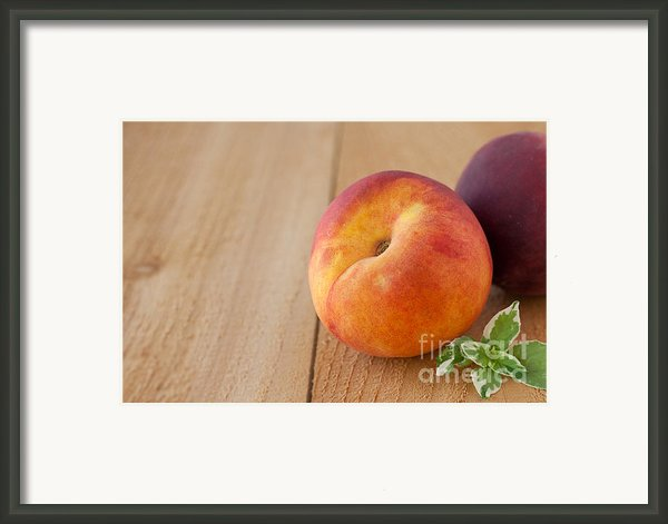 Peaches Framed Print By Kay Pickens