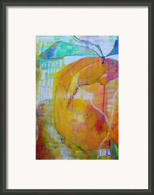Peachy Keen Framed Print By Carly Hardy
