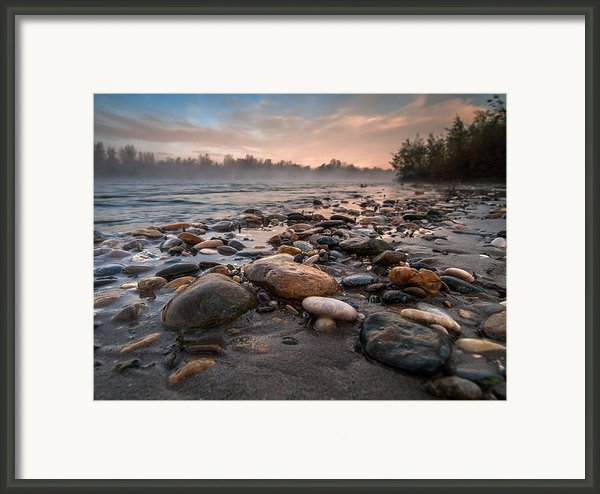 Pebbles Framed Print By Davorin Mance