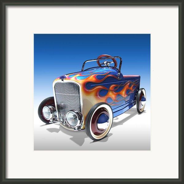 Peddle Car Framed Print By Mike Mcglothlen