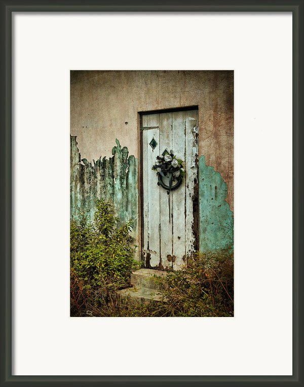 Peeled Paint Framed Print By Kathy Jennings