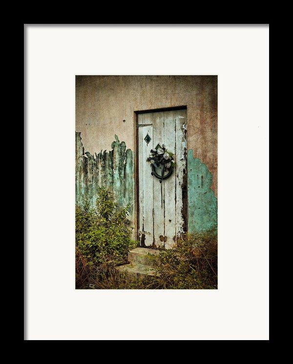 Peeled Paint Framed Print By Kathy Jennings