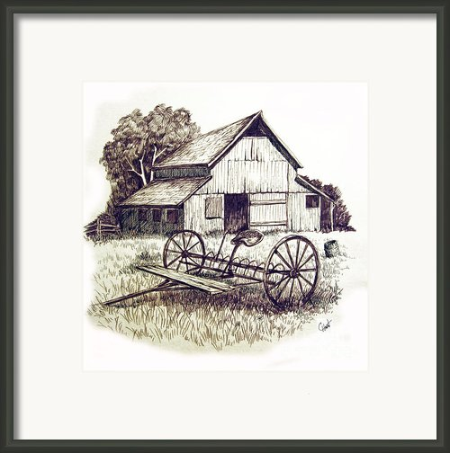 Pen And Ink 8 Framed Print By Carol Hart